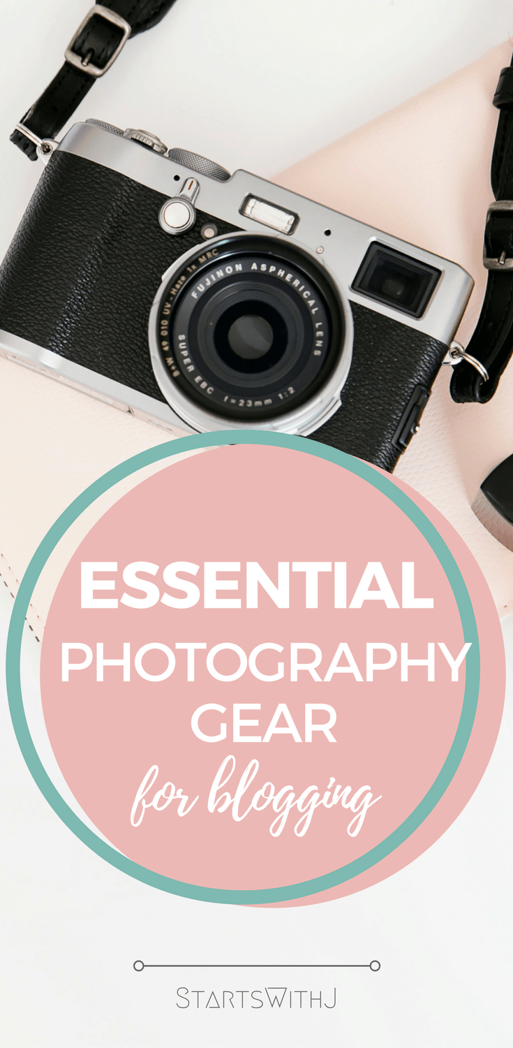 Trying to take great photos for your blog can be quite tricky. I found this great list that explains all the equipment you need to be able to take beautiful blog photos!